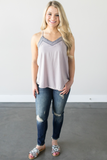 Z-Danica Embroidered Tank