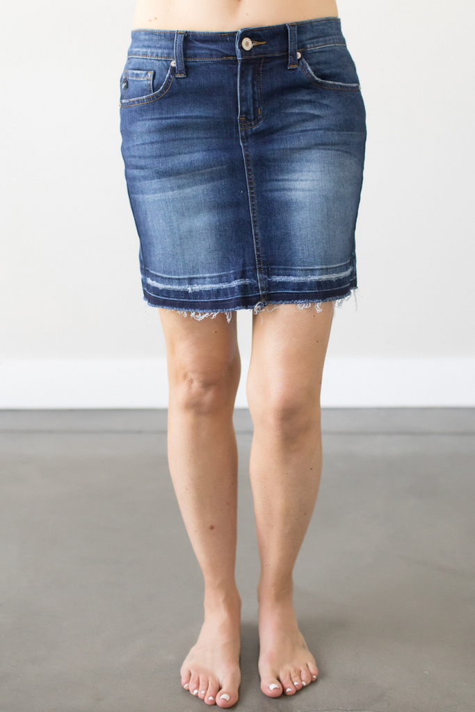 Z-Rosemary Denim Skirt