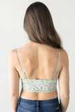 Rory Lace Bralette -  Sage or Ivory