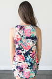 Kalley Floral Contrast Top