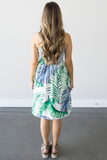 Z-Cicelee Tropical Tube Dress