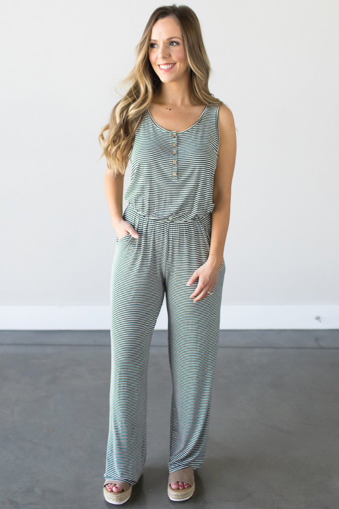Z - Jana Striped Jumpsuit