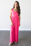 Z - Taylor Sleeveless Maxi in Coral