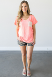 Dana Pocket Tee