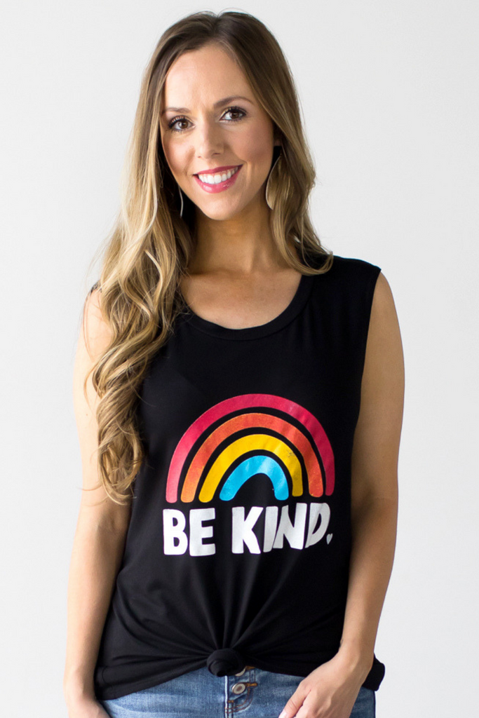 Z-Be Kind Graphic Tank
