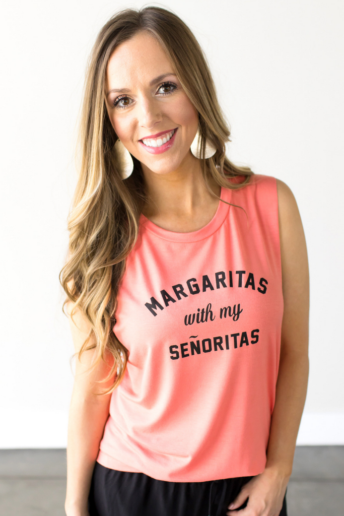 Margaritas With My Senoritas Graphic Tank