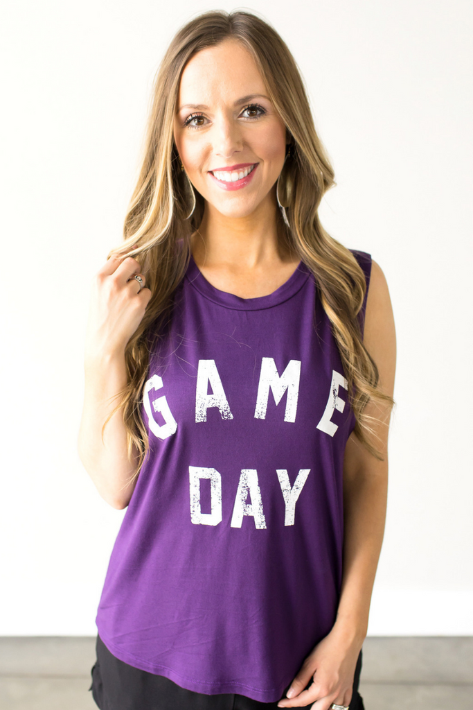 Z - Game Day Graphic Tank
