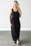 Taylor Sleeveless Maxi in Black