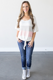 Z-Whitney Ruffle Sleeve Top