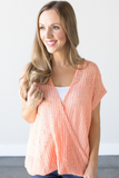 Z - Charlotte Crossover Knit Top