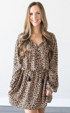 Z - Calla Leopard Print Dress