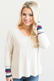 Norah Color Block Top