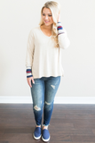 Z-Norah Color Block Top