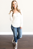 Z-Elle Thermal Henley Top