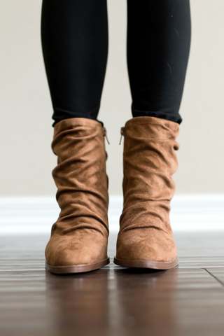Timber Slouchy Bootie