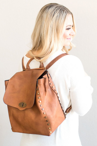 Dillon Backpack - Brown or Grey