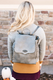 Z-Dillon Backpack - Brown or Grey