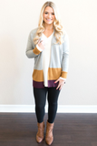 Z - Dakota Color Block Cardigan