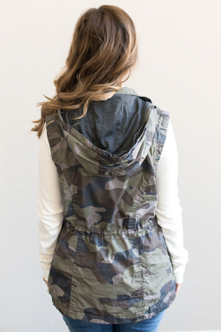 Hartley Utility Vest - Camo