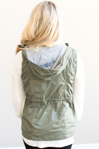 Hartley Utility Vest - Olive
