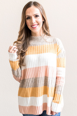 Bella Striped Sweater