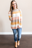 z - Bella Striped Sweater