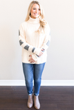 Raven Contrast Sweater