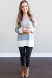 Z - Charlie Color Block Sweater