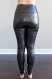 Valentina Faux Leather Legging