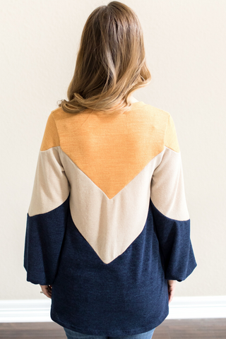 Parker Color Block Top
