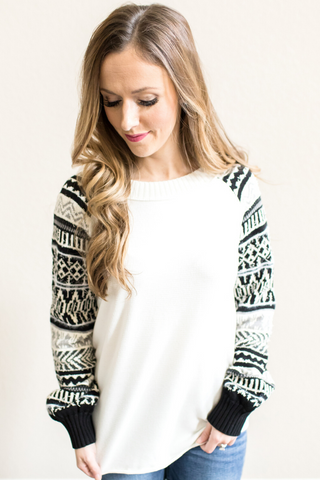 Delilah Crew Neck Top