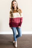 Campbell Color Block Sweater