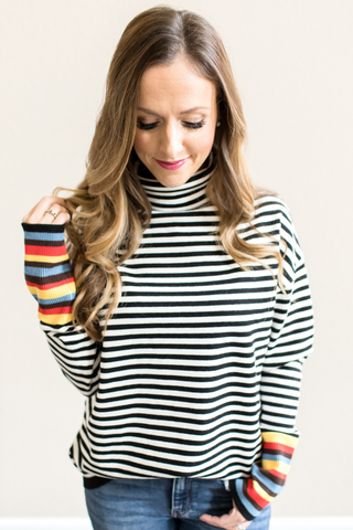 Marlena Striped Sweater