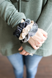Joy Velvet Scrunchies (pack of 3)