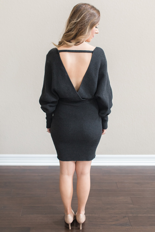 Cristina Knit Sweater Dress