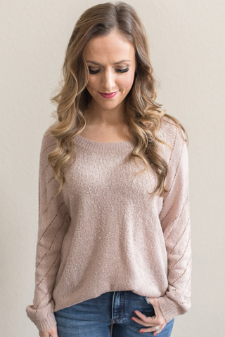 Estelle Knit Pullover Sweater