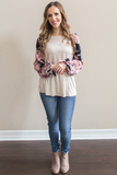 Z - Robin Floral Sleeve Top