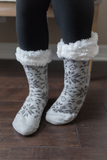 Z-Winter Wonderland Slipper Socks - 5 color choices!
