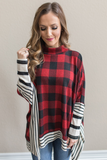 Z-Remi Buffalo Plaid Poncho