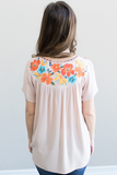 Avery Floral Embroidered Top
