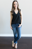 Z - Jenna Scalloped Top