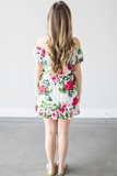Anya Floral Ruffle Dress