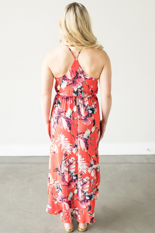 Kaylin Floral Ruffle Dress