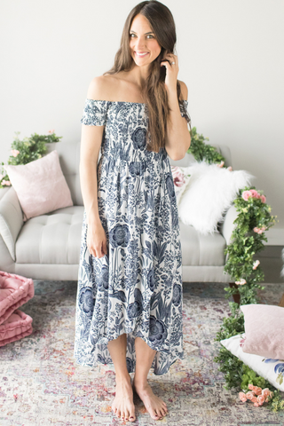Adelyn Off The Shoulder Maxi
