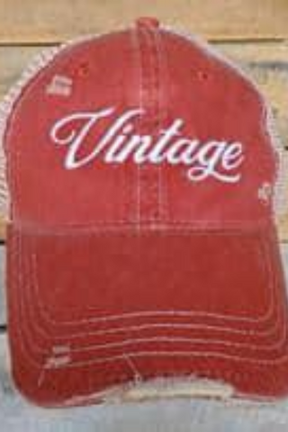 Vintage Distressed Hat