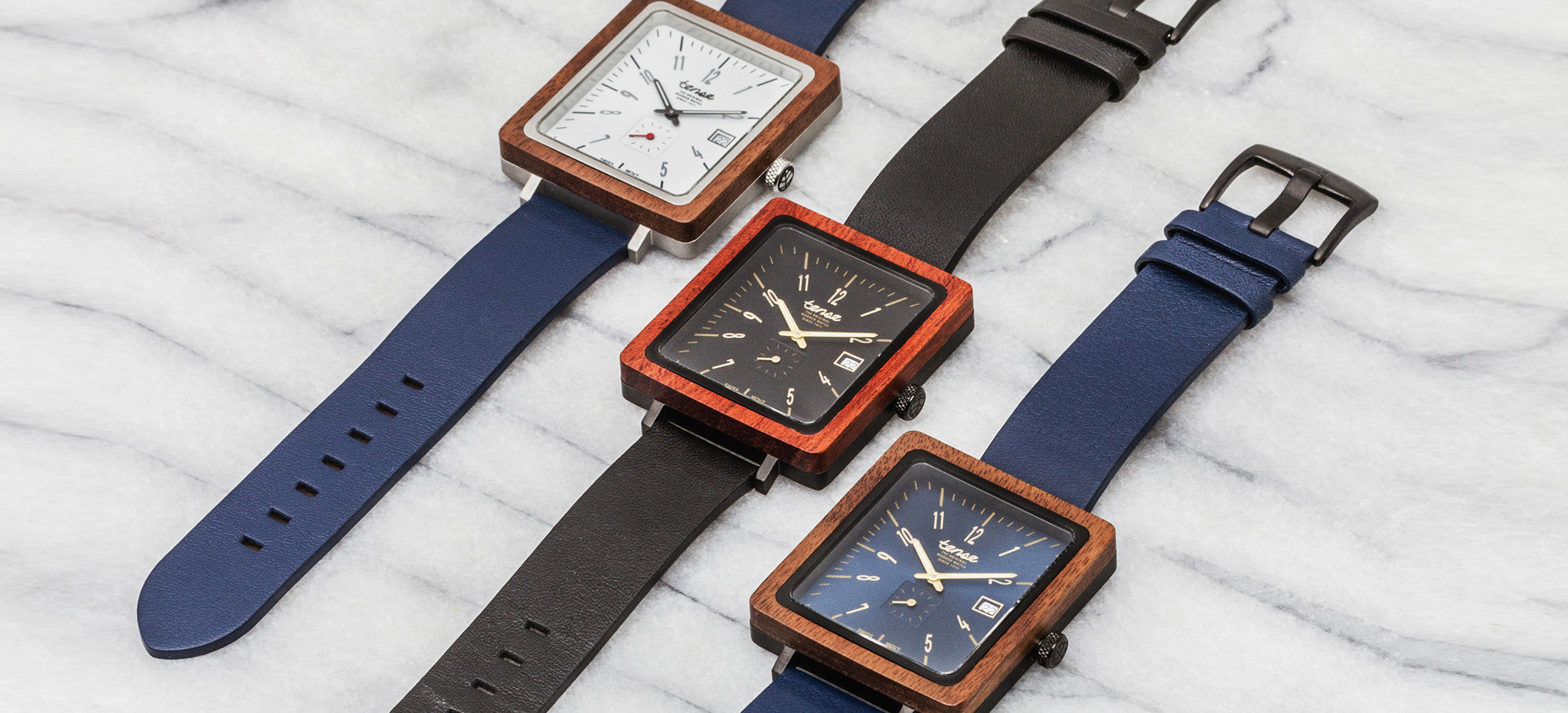 Tense Watches - Brunswick Leather Watch