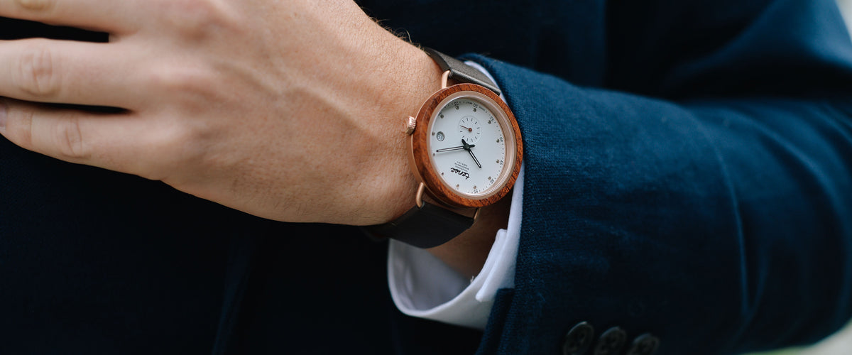 Tense Wood Watches - The Hybrid