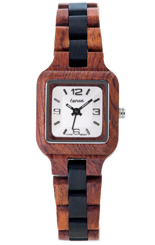Rosewood/Dark Sandalwood/White Dial