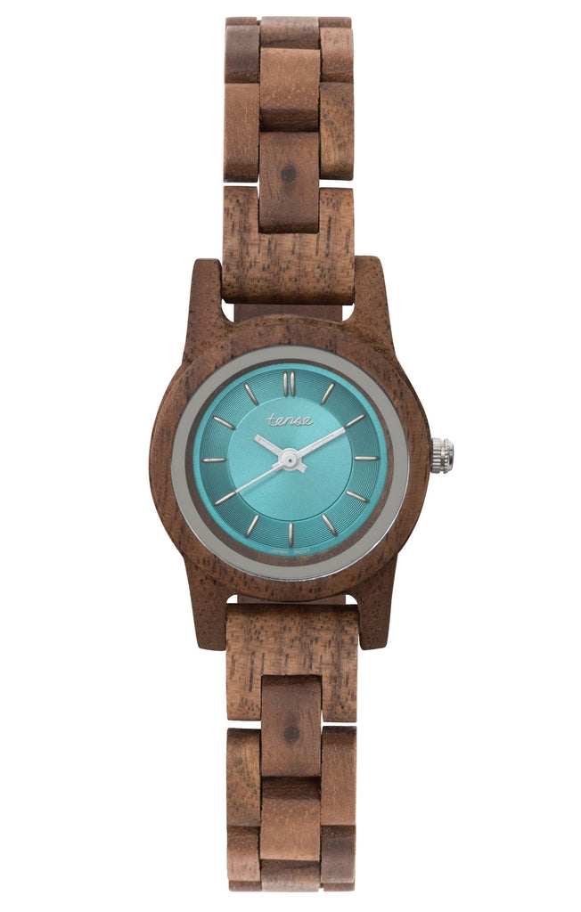 Walnut/Teal