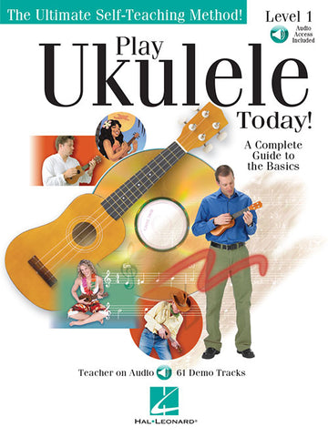 Play Ukulele Today! (w/Audio Access) - Ukulele Method